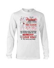 Family Husband Be Yours Clock Moon Long Sleeve Tee tile