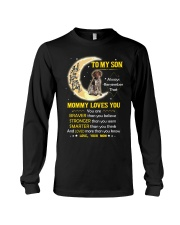 German Shorthaired Pointer Son Mom Mommy Loves You Long Sleeve Tee thumbnail