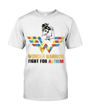 Wonder warrior autism Classic T-Shirt front