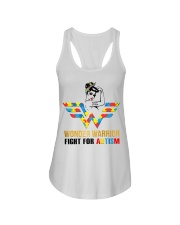 Wonder warrior autism Ladies Flowy Tank thumbnail