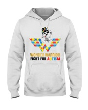 Wonder warrior autism Hooded Sweatshirt tile