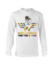 Wonder warrior autism Long Sleeve Tee thumbnail