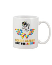 Wonder warrior autism Mug tile