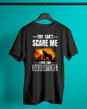 Two Wolf daughters Classic T-Shirt lifestyle-mens-crewneck-front-3