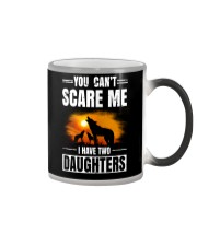Two Wolf daughters Color Changing Mug thumbnail