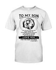 Fishing Son Dad Love You For The Rest Of Mine Classic T-Shirt thumbnail
