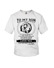 Fishing Son Dad Love You For The Rest Of Mine Youth T-Shirt thumbnail