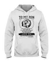 Fishing Son Dad Love You For The Rest Of Mine Hooded Sweatshirt thumbnail