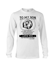 Fishing Son Dad Love You For The Rest Of Mine Long Sleeve Tee thumbnail