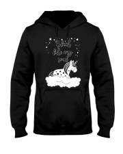 Unicorn Black Like My Soul Mug Hooded Sweatshirt thumbnail