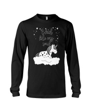 Unicorn Black Like My Soul Mug Long Sleeve Tee thumbnail