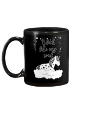 Unicorn Black Like My Soul Mug Mug back