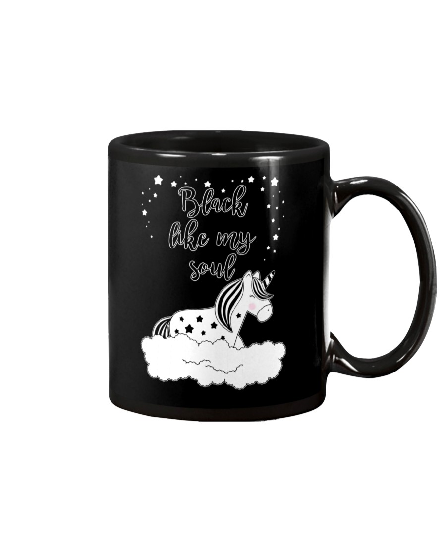 Unicorn Black Like My Soul Mug Mug