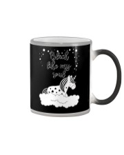 Unicorn Black Like My Soul Mug Color Changing Mug thumbnail