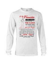 Family Fiancee The Clock The Moon Long Sleeve Tee thumbnail