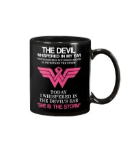 Breast Cancer My Daughter Is The Storm  Mug thumbnail
