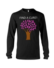 Breast Cancer Find A Cure Long Sleeve Tee thumbnail
