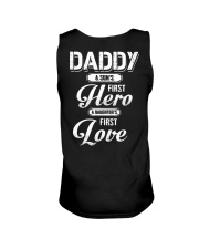 Daddy Son's First Hero Daughter's First Love Unisex Tank tile