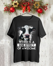 Cow Weird awesome Classic T-Shirt lifestyle-holiday-crewneck-front-2