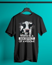 Cow Weird awesome Classic T-Shirt lifestyle-mens-crewneck-front-3