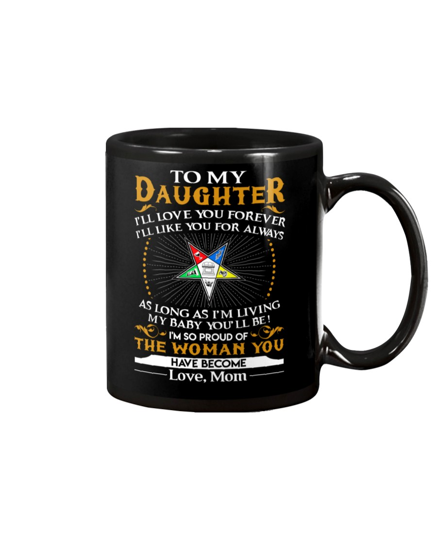 Daughter Mom Proud Of The Woman You Have Become Mug