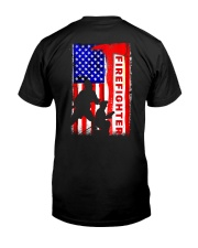 Firefighter American flag Classic T-Shirt thumbnail