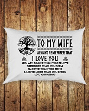 Viking I love you Wife Rectangular Pillowcase aos-pillow-rectangle-front-lifestyle-2
