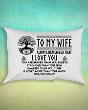Viking I love you Wife Rectangular Pillowcase aos-pillow-rectangle-front-lifestyle-3