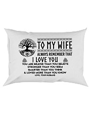 Viking I love you Wife Rectangular Pillowcase front