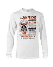 Butterfly Boyfriend Clock Ability Moon Long Sleeve Tee thumbnail
