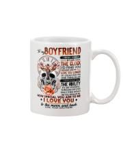 Butterfly Boyfriend Clock Ability Moon Mug front