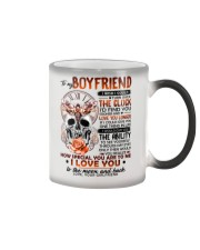 Butterfly Boyfriend Clock Ability Moon Color Changing Mug thumbnail