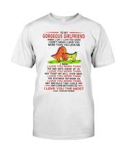 Dinosaur Girlfriend I Love You Most Classic T-Shirt thumbnail