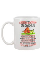 Dinosaur Girlfriend I Love You Most Mug back