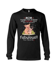 Pig Mom Share DNA Long Sleeve Tee tile