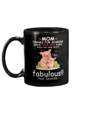 Pig Mom Share DNA Mug back