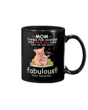 Pig Mom Share DNA Mug tile