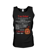 Firefighter No Matter Happens  Unisex Tank thumbnail