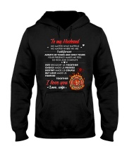 Firefighter No Matter Happens  Hooded Sweatshirt thumbnail