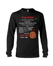 Firefighter No Matter Happens  Long Sleeve Tee tile