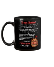 Firefighter No Matter Happens  Mug back