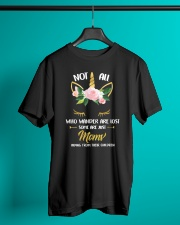 Unicorn Moms Hiding From Their Children Classic T-Shirt lifestyle-mens-crewneck-front-3