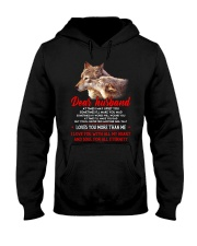 I May Upset You Husband Wolf Gift Hooded Sweatshirt tile