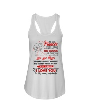 Family Fiancee Be Yours Clock Moon Ladies Flowy Tank thumbnail