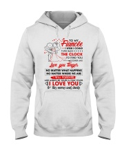 Family Fiancee Be Yours Clock Moon Hooded Sweatshirt tile