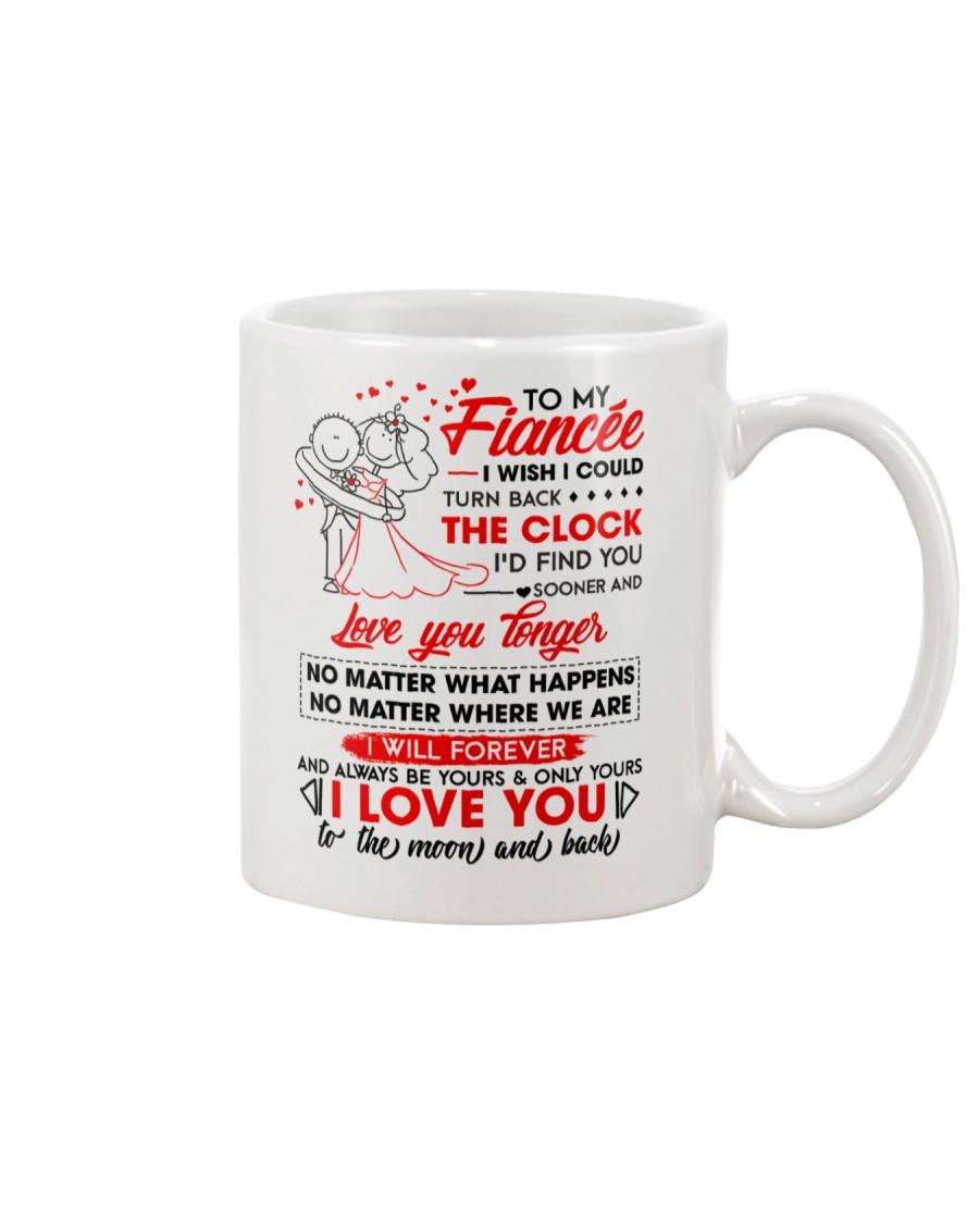 Family Fiancee Be Yours Clock Moon Mug