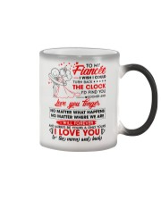 Family Fiancee Be Yours Clock Moon Color Changing Mug thumbnail