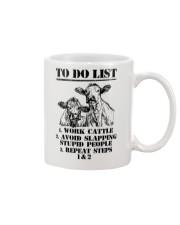 Farmer to do list shirt Mug thumbnail