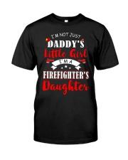 I'm firefighter's daughter shirt Classic T-Shirt thumbnail