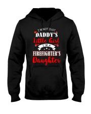 I'm firefighter's daughter shirt Hooded Sweatshirt thumbnail
